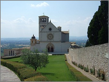 basilica di san francesco assisi umbrien